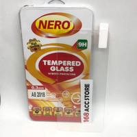 TEMPERED GLASS / ANTI GORES KACA SAMSUNG A8 2018 NERO