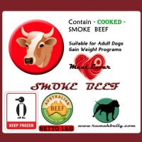 DOG FOOD/CAT FOOD/RAW FOOD/MEATLOVER SMOKE BEEF/MAKANAN ANJING-KUCING