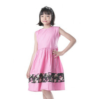 T 3222 Baju Drees Anak Pakaian Anak Perempuan Stripe Flow Pattern