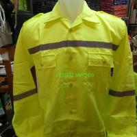 baju kerja proyek/baju safety/baju atasan