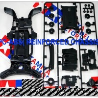 TAMIYA AR CHASSIS BLACK REINFORCED (PC+ABS)