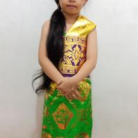 Baju adat bali anak perempuan / baju karnaval