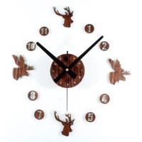Jam Dinding Besar DIY 30-60cm Diameter - ELET00663