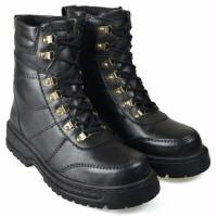 murah sepatu boot pria boots safety shoes kulit sepatu docmart bikers