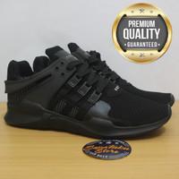 Sepatu Adidas EQT Support ADV Triple Black / Full Black