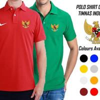 Kaos Polo Shirt Timnas Indonesia 2018/2019