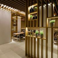 partisi ruangan minimalis model line/ penyekat ruangn/ harga per m²