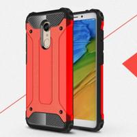 Case Xiaomi Redmi 5+ Hybrid Slim Armor Spigen Hard Plus Soft Casing