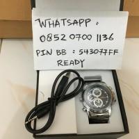 Spy Kamera Jam Tangan Silver Pengintai Cam Camera Video Spycam HD 8GB