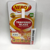 TEMPERED GLASS / ANTI GORES KACA SAMSUNG J510 J5 2016 NERO