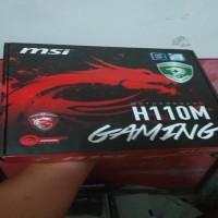 JUAL SECOND   Motherboard MSI H110M-Gaming