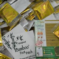 GROSIR Koyo kaki Bamboo Gold/Foot patch Ori/bukan NBOS VBOS - per psg