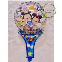 Balon Foil Pentungan / Pentung / Balon Tongkat Karakter Tsum Tsum
