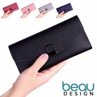 BEAU Dompet Wanita Import Batam Branded Kulit Terbaru Quality PU Leath