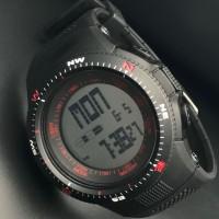 jam tangan digital sport remaja dewasa water resist visica skmei casio
