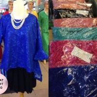 Atasan Brokat Kebaya LD 120 cm Blus Blouse Baju Pesta Big Size Brukat