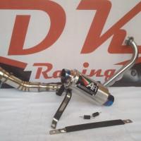 knalpot kawasaki bajaj pulsar 200ns Austin racing fullsistem