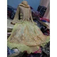 baju muslim gamis india anak. kostum india anak. baju tari india anak