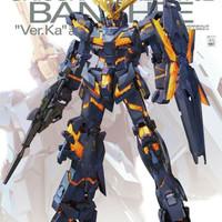 Bandai MG 1/100 Unicorn Gundam Banshee ver.ka ver ka ver. ka banshe