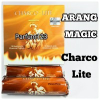 Arang magic CHARCO LITE - arang briket magic - bara shisa -areng bulet
