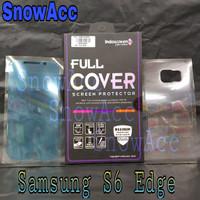 Anti Gores indoscreen Samsung Galaxy S6 Edge Full Cover depan belakang