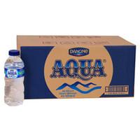 AQUA Air Mineral Botol Mini 330ml 330 ml 1dus isi 24 GOJEK