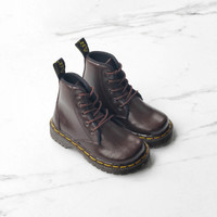 Sepatu Boots Anak Docmart Brown