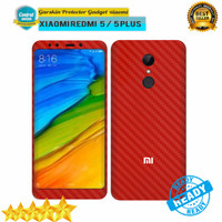 Garskin skin Xiaomi Redmi 5  5 Plus Carbon RED