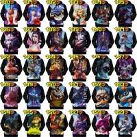 JAKET HOODIE kaos baju mobile legend legends MURAH MERIAH part 2/2