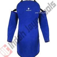Apron Las Set GOSAVE Kulit Badan + Tangan Seragam Baju Las Safety