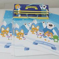 Plastik Snack Pororo gambar kutub / plastik bingkisan pororo custom