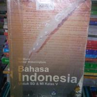 BUKU BAHASA INDONESIA UNTUK SD KLS V.TERBITAN BSE