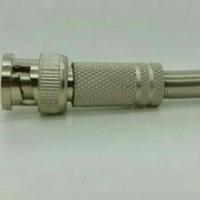Jack BNC model baut cocok buat kabel coaxial RG59/RG6