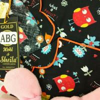 Hoki Sheila Gold ABG BABY OWL-BLACK