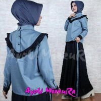 Baju Muslim Wanita Dress Ayou Mizzura Murah