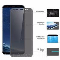Tempered Glass Anti SPY CURVE Samsung Note 9 N960 6.3 3D Privacy Glass