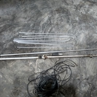 Antena telex bekas pemancar fm 50 watt