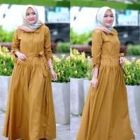 Baju Muslim Gamus Mirella Dress Murah