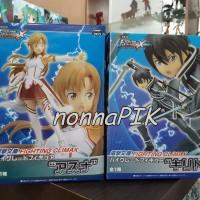 Action Figure Sword Art Online Asuna Kirito 1 set isi 2