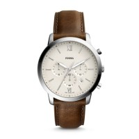 Fossil Neutra Chronograph Brown Leather Watch FS5380