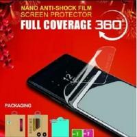 Anti Gores Anti Shock Film Samsung A8 2018 - Depan Belakang