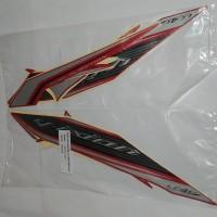 Stiker Bodi & Lis Body & Striping Vixion 2013 Merah Full