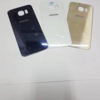 Samsung S6 Edge Original Tutup Baterai Backdoor Backglass