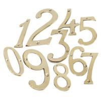 Nomor Rumah/ Plat Nomor Rumah/ Angka Rumah/ Kunci Pintu Rumah