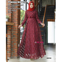 Baju Muslim pesta Princess Dress busana muslim