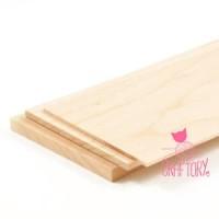 [KUALITAS BAIK] 2pc Kayu Balsa Sheet 1mm - Papan Bahan Maket 50cm