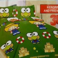 BED COVER SET BONITA 3D KING 180X200 KEROPPI/BEDCOVER SET/BADCOVER