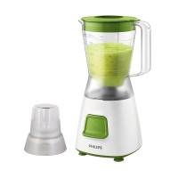 PHILIPS Blender Plastik 1.25L HR2057 - Green HR 2057 Garansi Resmi
