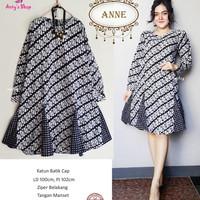 Anne midi dress batik by Anty's Shop