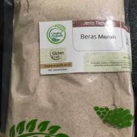 Tepung Beras Merah / Putih Organik 500gr Gluten Free MPASI Bayi